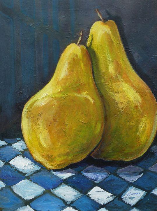 Resting Pears - Lynne Summers