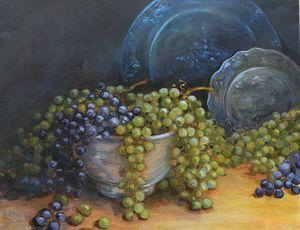 Presentation of Grapes