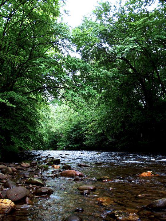 Rocky River - Russell Clenney Digital Art