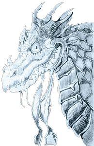 The evil dragon