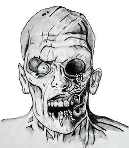 The evil zombie