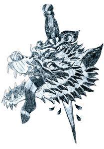 The wolf dagger