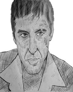 Scarface - Grims pencil art