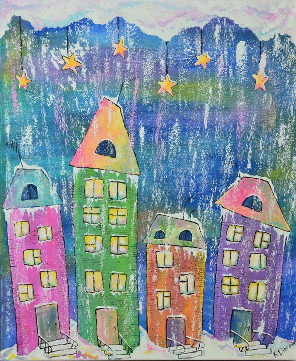 Happy Winter Night - Kateryna Dibrova