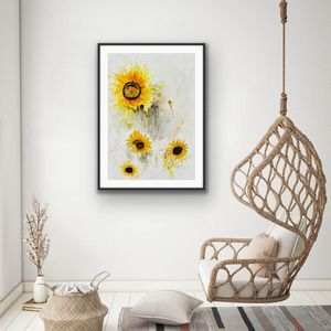 Shades of summer sunflowers