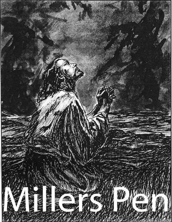Jesus in the Garden - Miller's Pen
