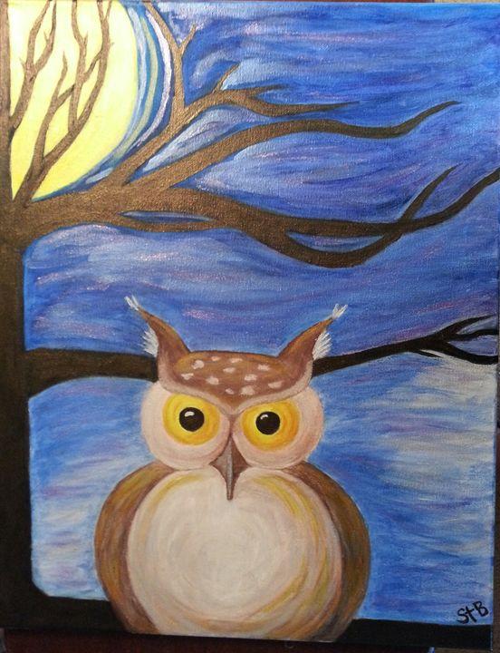 Midnight Owl - Esiret Art