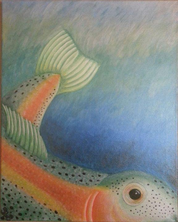 Here fishy fishy - Esiret Art
