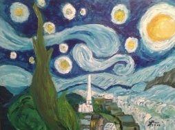 My version of Starry Night - BlueJayArt1958