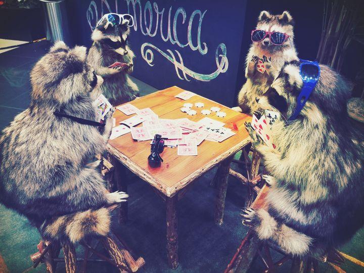 Trash Panda Poker Night - Bluehorse Designs