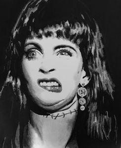 Frankenhooker original portrait art