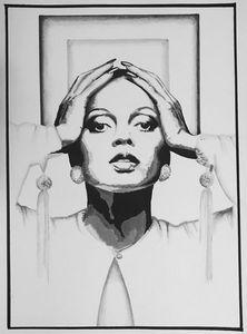 Diana Ross Original Art