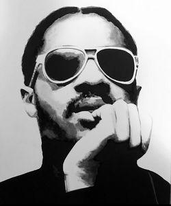 Stevie Wonder original portrait