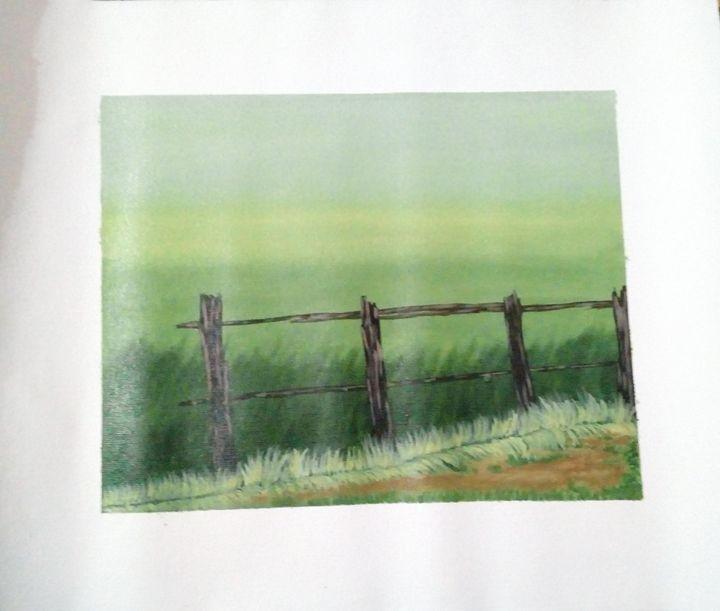 Green grass beauty - Smruti Artworks