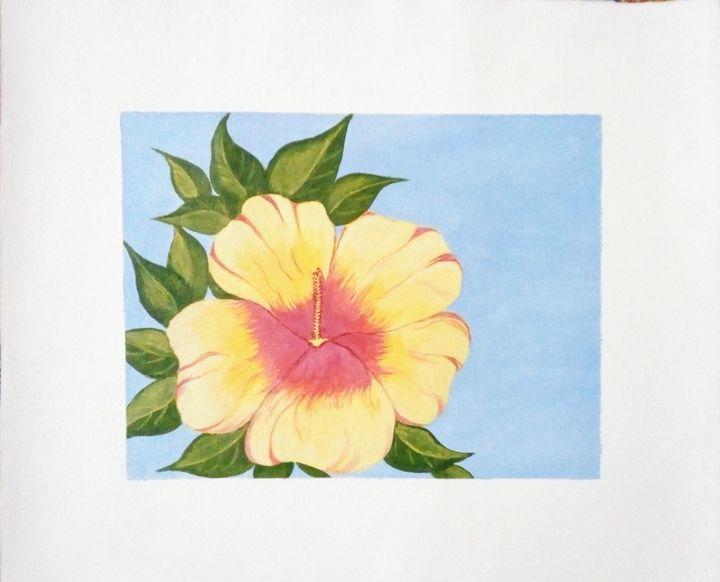 Yellow flower - Smruti Artworks