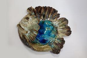 Big Blue wall fish