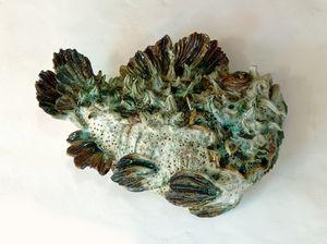 Ceramic Wall Fish XL