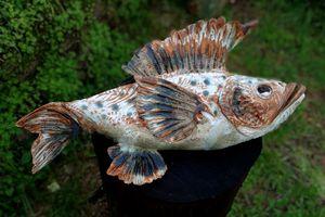 Stoneware fish