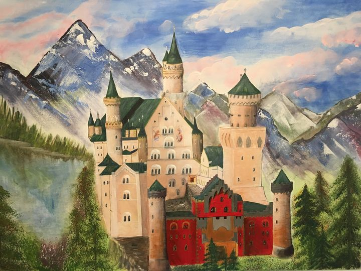 Dream castle - Alevtina Mueller