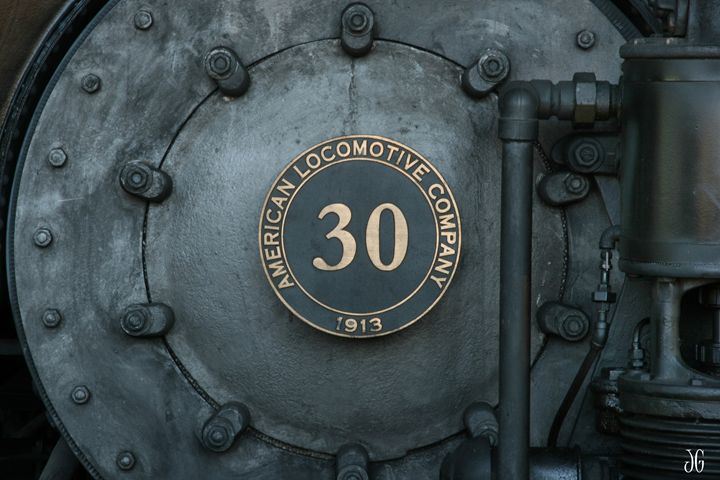 Locomotive Engine #30 - Gypsy Light Photography