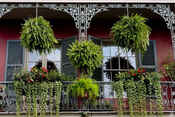 New Orleans Balcony - Gypsy Jos Art