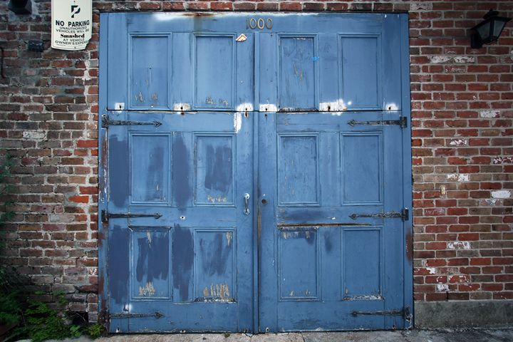 Blue Doors of NOLA - Gypsy Jos Art