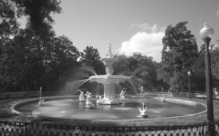Forsyth Park Fountain - Gypsy Light Photography