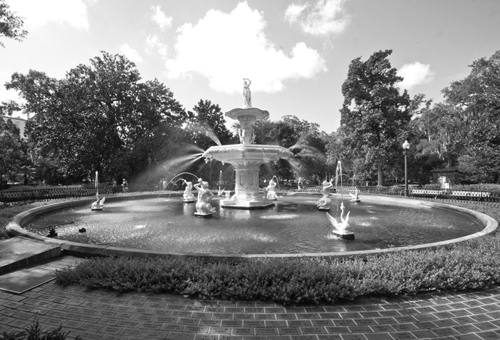 Forsyth Park II - Gypsy Light Photography