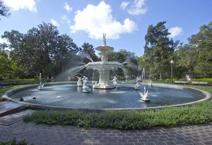 Forsyth Park Fountain IV - Gypsy Light Photography