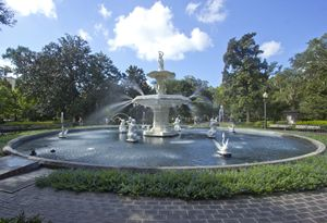 Forsyth Park Fountain IV