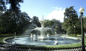 Forsyth Park Fountain V