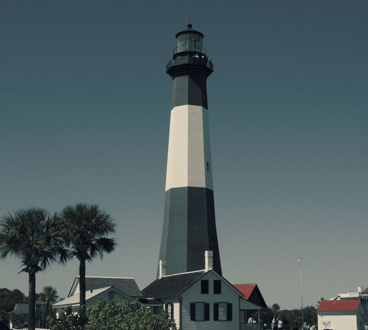Tybee Island GA Lighthouse - Gypsy Jos Art