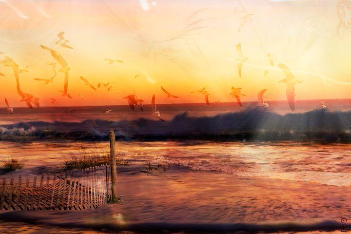 Day of the Birds - Gypsy Jos Art