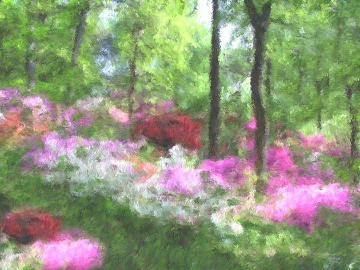 Forest Garden - Prints by Michel