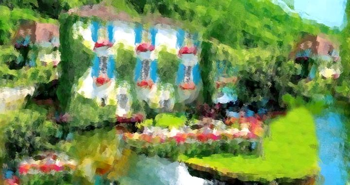 French Country-side House - Prints by Michel