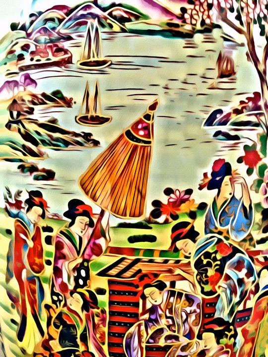 Asian Celebration - Prints by Michel