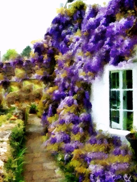 Quaint House in Provence France - Prints by Michel