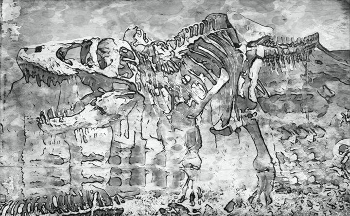 Tyrannosaurus Rex III - Prints by Michel