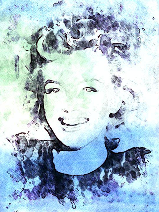 Marilyn Monroe IV - Prints by Michel