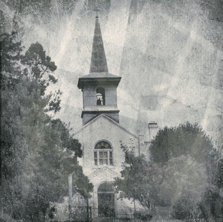 "Church  in Broken Sunlight"" - Prints by Michel"