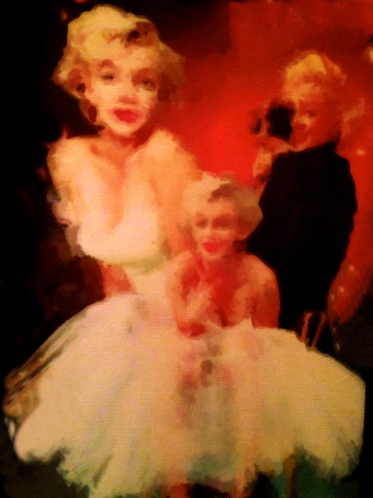 Marilyn Monroe III - Prints by Michel