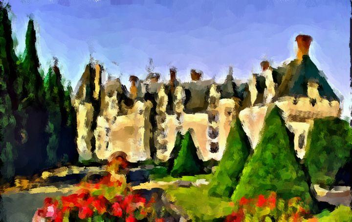European Chateau - Prints by Michel