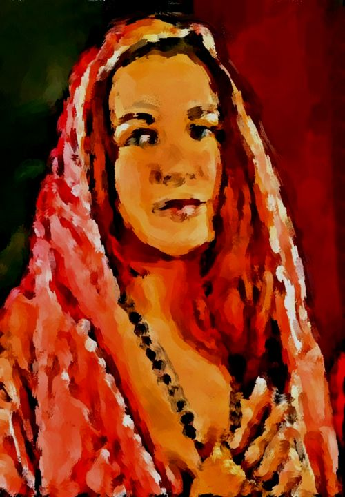 Mary Magdalene Revisited - Prints by Michel