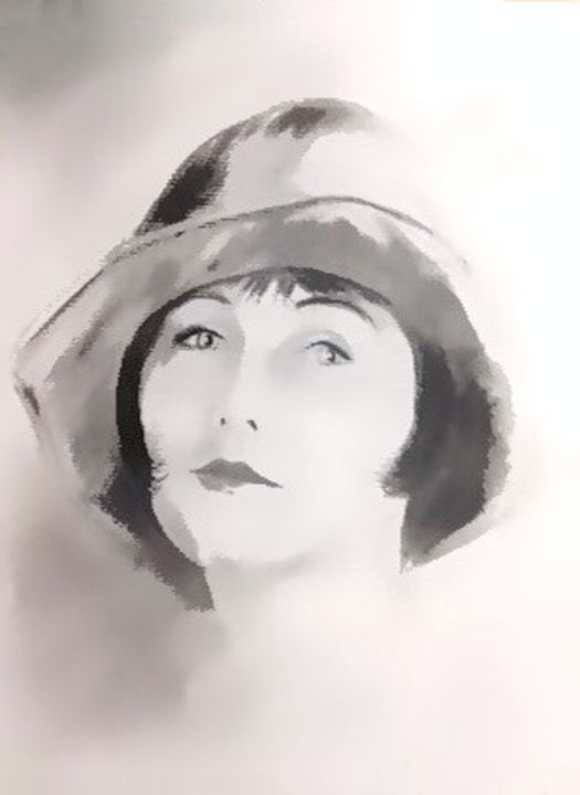 1920's Maiden - Prints by Michel