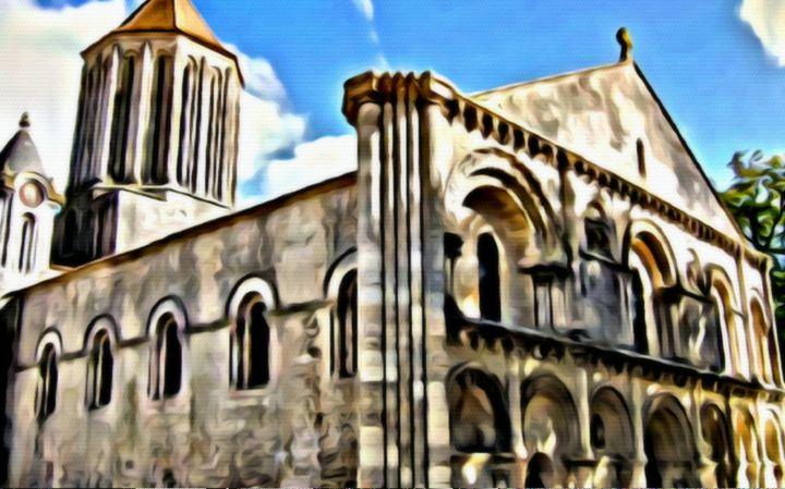 European Church - Prints by Michel