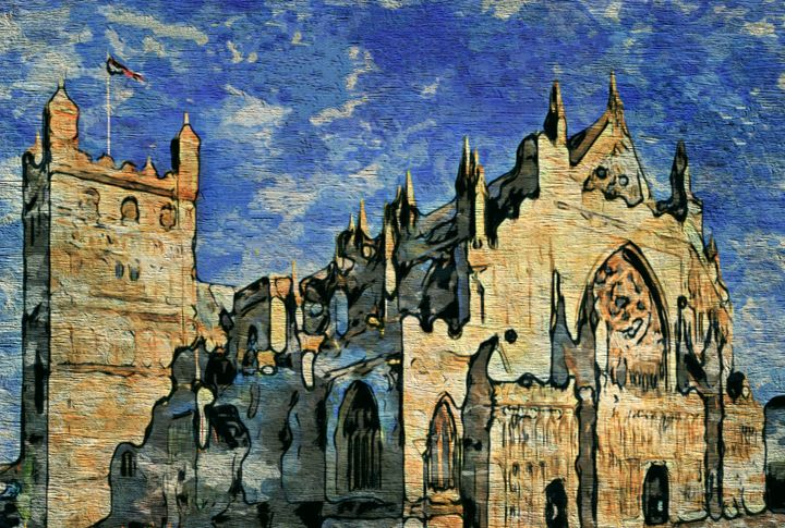 Exeter Cathedral - Prints by Michel