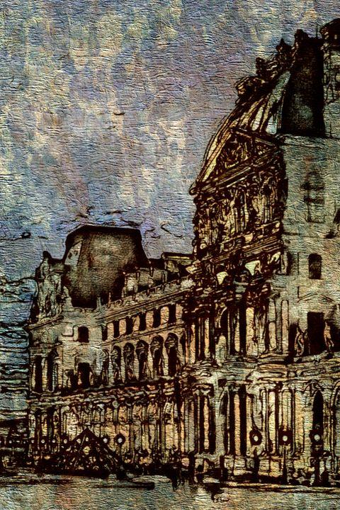 Le Louvre de Paris - Prints by Michel