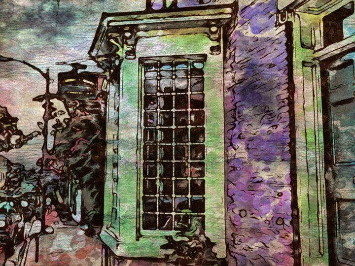 Leesburg Street Scene - Prints by Michel