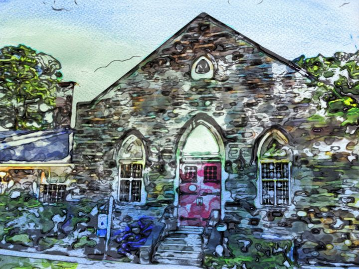 Laurel Church - Prints by Michel