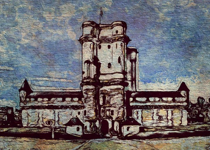 French Chateau - Prints by Michel